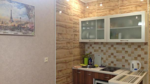 1к квартира в новом доме в Алуште на берегу моря