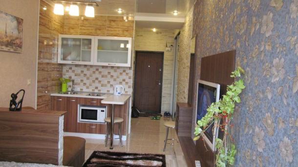 Современная  квартира студия в элитном доме, 150 метров  к морю